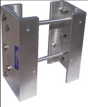 Hydro Dynamics extension plates for mounting outboard motors to boat transoms